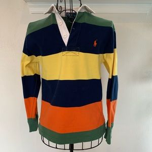Polo Ralph Lauren Rugby Long Sleeve Collared Shirt